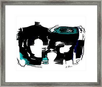 Fountain Of Yores Framed Print by Rene Avalos