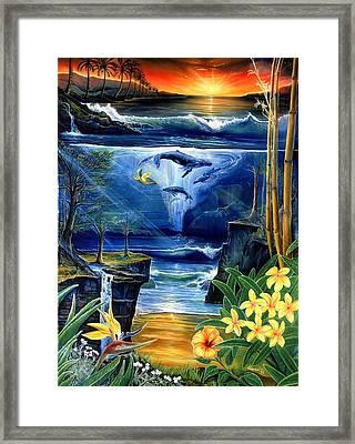 Fountain Framed Print by Sevan Thometz