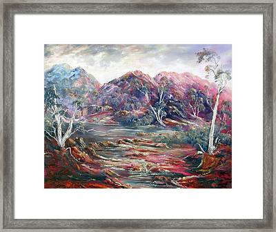 Fountain Springs Outback Australia Framed Print