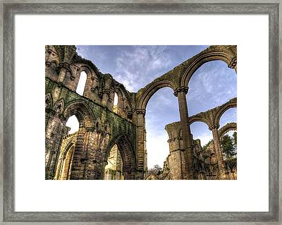 Fountains Abbey 5 Framed Print by Svetlana Sewell