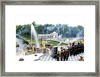Fountains B416 Framed Print by Charles  Ridgway