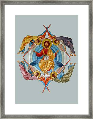 Four Angels Ascension Framed Print