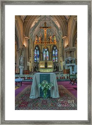 Four Angels Framed Print