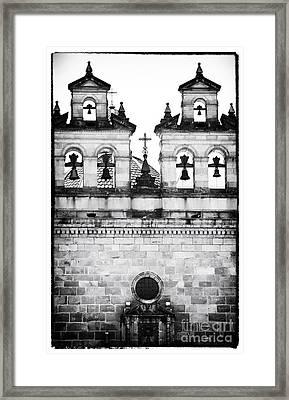Four Bells In Bogota Framed Print by John Rizzuto