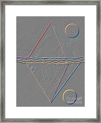 Four Dimensional Continuum Framed Print