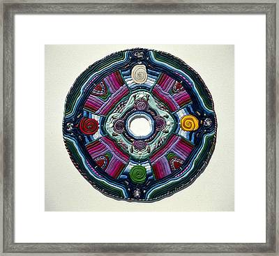 Four Directions Framed Print by Arla Patch