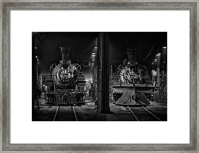 Four-eighties Framed Print