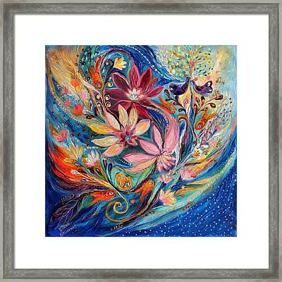 Four Elements IIi. Water Framed Print