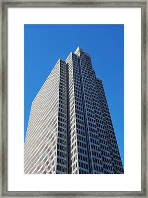 Four Embarcadero Center Office Building - San Francisco - Vertical View Framed Print
