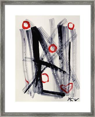 Four Hugs Framed Print by Mary Carol Williams
