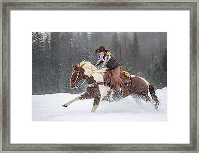 Four Legs Move Our Souls Framed Print