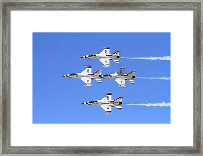 Four Mation Framed Print