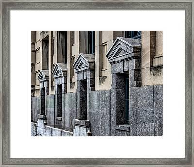 Four Of A Kind Framed Print by Jon Burch Photography