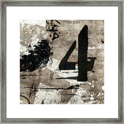 Four Off The Counter Framed Print by Carol Leigh
