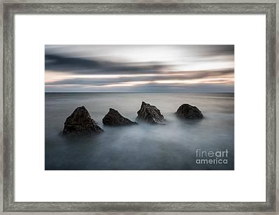 Four Rocks Framed Print by Ray Pritchard
