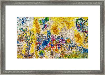 Four Seasons Chagall Framed Print
