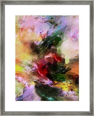 Four Seasons Mood Abstract Framed Print