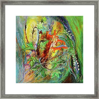 Four Seasons Of Vine Spring Framed Print