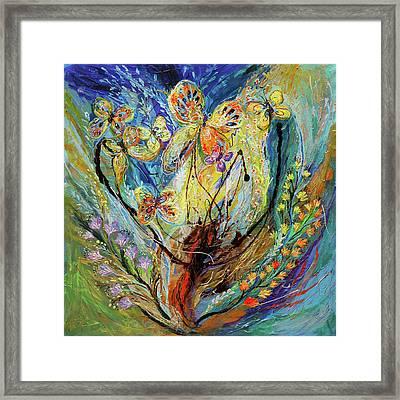 Four Seasons Of Vine Winter Framed Print