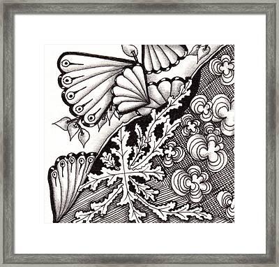 Four Seasons Framed Print