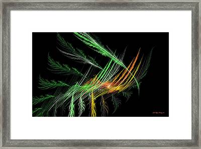 Four Seasons Framed Print by Wayne Bonney