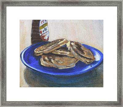 Four To Go Framed Print by David Zimmerman