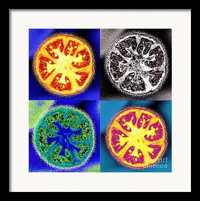 Vegetables Digital Art Framed Prints