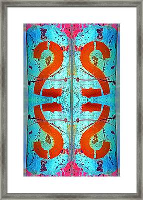 Four Twos Framed Print