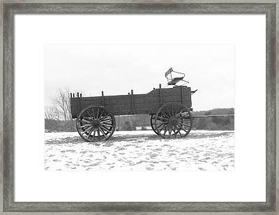 Framed Print featuring the digital art Four Wheel Drive by Barbara S Nickerson