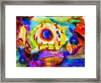 Four Winds By Colleen Ranney Framed Print