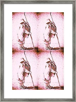 Four Young Herdsman Framed Print