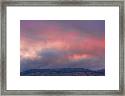 Fourmile Canyon Fire Image 90 Framed Print by James BO  Insogna