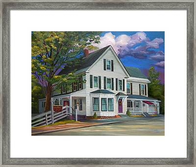 Fournier Funeral Home Framed Print