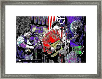 Fourteen Strings Framed Print