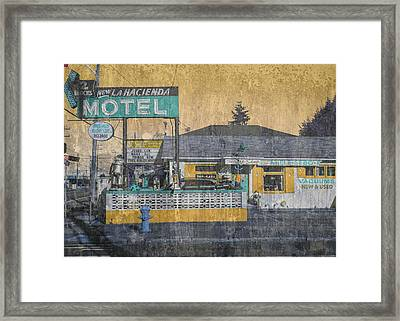 Fourth And Lucile Framed Print by Eric Ewing