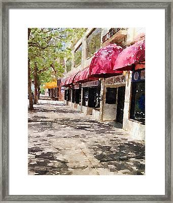 Fourth Avenue Framed Print
