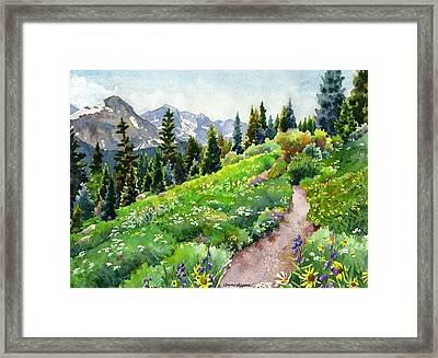 Fourth Of July Framed Print by Anne Gifford