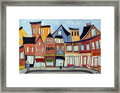 Fouth Avenue East Framed Print by Heather Lovat-Fraser