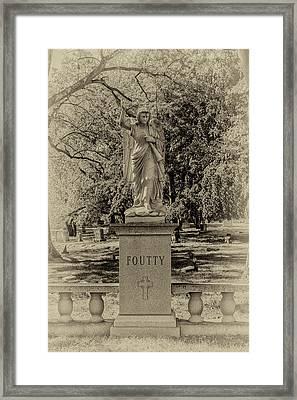 Foutty Framed Print by William Morris
