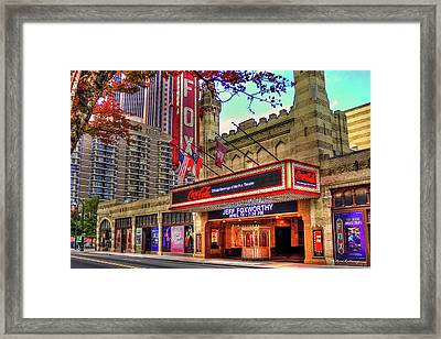 Fox And Foxworthy The Fabulous Fox Theater Art Framed Print