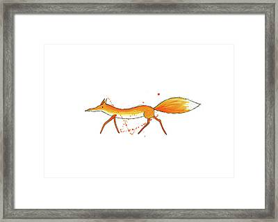 Fox  Framed Print by Andrew Hitchen