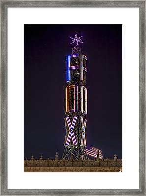 Fox Theatre Detroit Framed Print
