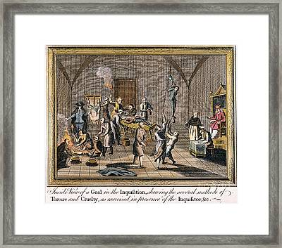 Foxe: Spanish Inquisition Framed Print