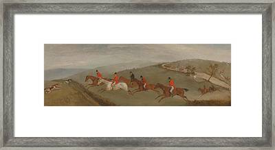 Foxhunting - The Few Not Funkers Framed Print