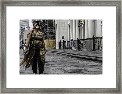 Foxy Lady, New Orleans, Louisiana Framed Print