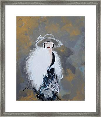 Foxy Lady Framed Print by Susan Adams
