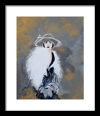 Portraiture Paintings Framed Prints