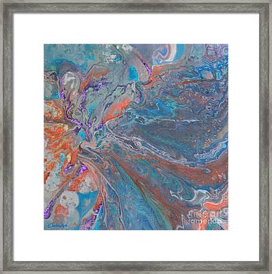 Fp Turquoise Framed Print