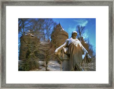 Fr De Chateaubriand Framed Print