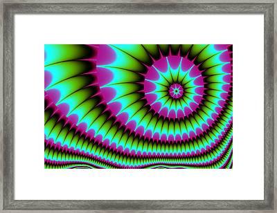 Fractal  167 Framed Print